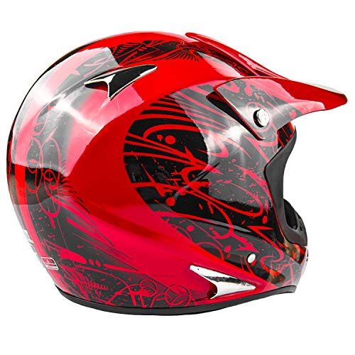 Product Image 5: Typhoon Adult ATV MX Helmet Goggles Gloves Gear Combo