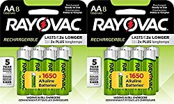 10 Best Rayovac Rechargeable Batteries