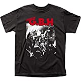 G.B.H. Men's Live Photo T-shirt XX-Large Black