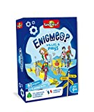 Bioviva- Enigmes - Villes et Pays, 283595, Multicolor, 12 x 3,5 x 15,5