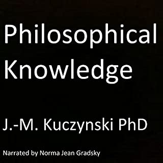 Philosophical Knowledge audiobook cover art