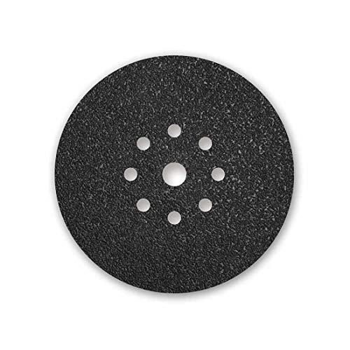 MENZER Black Klett-Schleifscheiben, 225 mm, 9-Loch, Korn 16, f. Trockenbauschleifer, Siliciumcarbid (10 Stk.)
