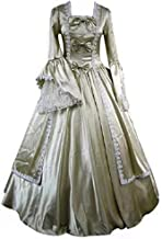 I-Youth Gothic Victorian Dress Long Sleeves Bowknot Lace Fancy Masqerade Costumes Ball Gown