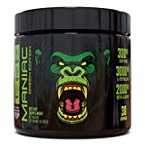 Maniac Green Edition Pre Workout Powder: Energy Booster , Beta-Alanine, 300mg Caffeine, Increased Workout Performance, Vegan, Gym and Home Workout (Fruit Punch, 30 Servings)
