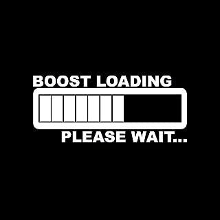 KEEN Boost Loading JDM Decal Vinyl Sticker Cars Trucks Walls Laptop White 5.5 in KCD426