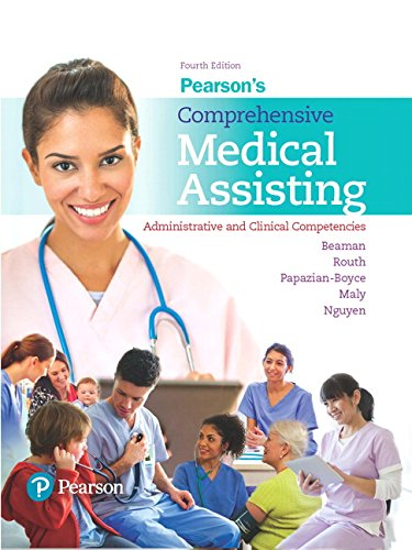 Pearson's Comprehensive Medical Assisting Plus MyLab Health Professions with Pearson etext -- Access Card Package