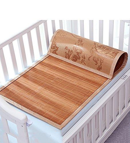 Sommer caijun Rattan Geflecht-Matten mit Kinder-Bett mit Matte-Pad, 45 * 90cm