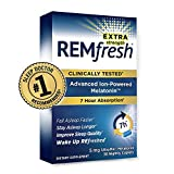 REMfresh Extra Strength 5mg Melatonin Sleep Aid Supplement (72 Caplets Total) | Sleep Supports Immune Function | #1 Doctor Recommended | Pharmaceutical-Grade, Ultrapure Melatonin