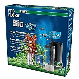 JBL ProFlora Bio160 Bio-CO2-Düngeanlage mit erweiterbaren Diffusor, Aquarien von 50 - 160 l