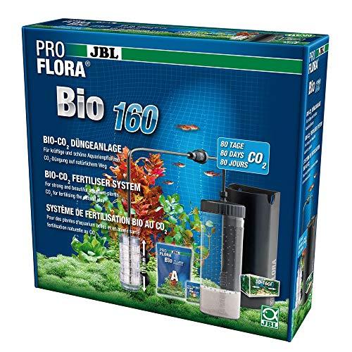 JBL ProFlora Bio160 Bio-CO2-Düngeanlage mit erweiterbaren Diffusor, Für Aquarien von 50 - 160 l, 64446