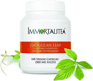 Gynostemma Capsules ( Jiaogulan Capsules ) AMPK Activator & Adaptogen Supplement | No Side Effects | Immortalitea 100 x 500mg