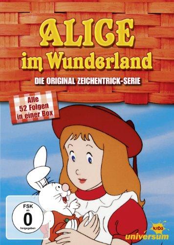 Alice im Wunderland - Die Original Zeichentrick-Serie (Episoden 1-52) [8 DVDs]