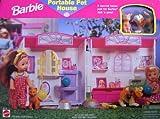 Barbie Casa portátil para mascotas - Hogar para mascotas Barbie (1998 Arcotoys, Mattel)
