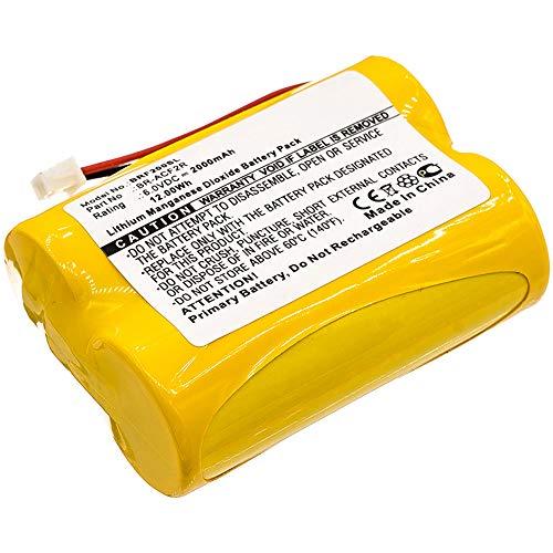 CELLONIC Batería Premium Compatible con Panasonic BR-ACF2R, 2000mAh Pila Repuesto bateria