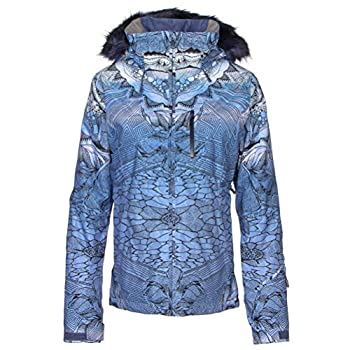 Roxy Snow Junior s Jet Ski Premium Snow Jacket Crown Blue_FREEZELAND L