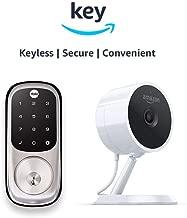 Yale Assure YRD226 Touchscreen Deadbolt + Amazon Cloud Cam   Key Smart Lock Kit (Satin Nickel)