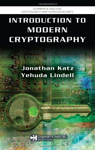 Download Introduction to Modern Cryptography: Principles and Protocols (Chapman & Hall/CRC Cryptography and Network Security Series) 1584885513