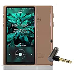 The CS43198 chips MasterHIFI and SmartHIFI in the HiBy R5 Hi-Res Audio Player can deliver the very best performance in sound clarity and pure, euphoric audio listening. With Qualcomm Snapdragon 425,the R5 owns Rock-stable firmware and OS,it's the sna...