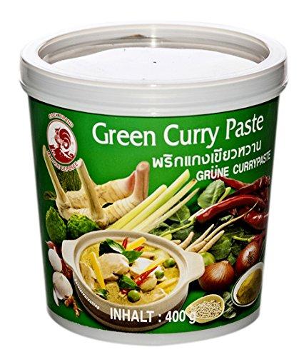 Pasta de curry verde tailandesa Cock