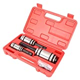 GZYF 1-1/8' to 3-1/4' Exhaust Muffler Tail Pipe Expander, 3 Piece with case, Tail Pipe Muffler Exhaust Expander Kit