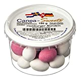 Canea-Sweets Schokolierte Mandeln knackig dragiert, HAMBURGER Mandeln Dose, 1er Pack (1 x 150 g)