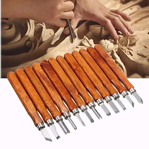 Portaherramientas de torno, Talla de madera de madera de la mano de...