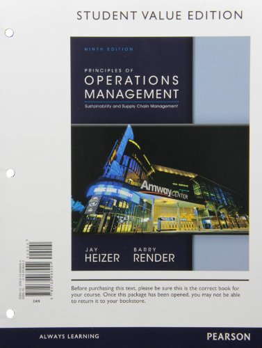 Principles of Operations Management, Student Value Edition Plus NEW MyOMLab with Pearson eText -- Access Card Package (9