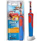 ORAL-B Stages–Cepillo de dientes infantil eléctrico a pilas, con temporizador, diseño de Cars