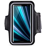 Armcase für Sony Xperia XZ3 Jogging Tasche kompatibel Handy Hülle Sport Lauf Hülle Armband Fitnesstasche
