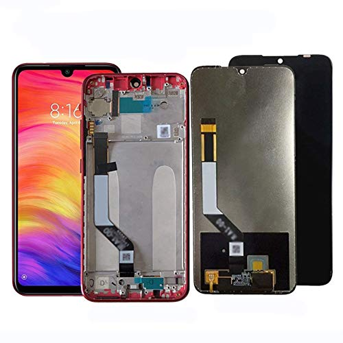 KTZAJO Pantalla para Xiaomi Redmi Note 7 Note7 Pro Pantalla LCD Pantalla Táctil Reemplazo Probado Teléfono Pantalla LCD Digitalizador Repuesto Pantalla LCD Pantalla Táctil (Color: LCD B