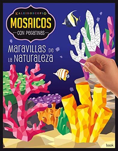 KALEIDOSCOPIO- MOSAICOS CON PEGATINAS PARA ADULTOS- MARAVILLAS NATURALEZA: Kaleidoscopio - mosaicos/pegatinas adultos - maravillas naturaleza: 3