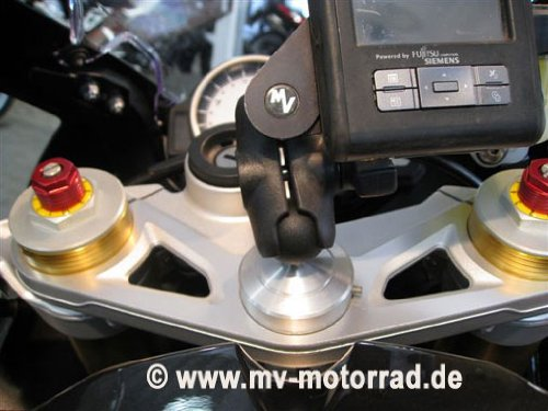 MV Verholen GPS Ball Mount compatible with BMW S1000RR VER-4901-10300