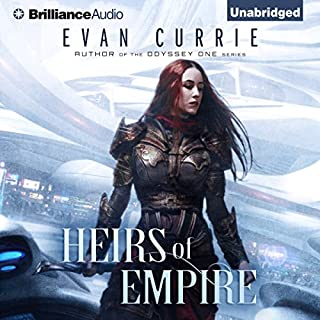 Heirs of Empire                   Written by:                                                                                                                                 Evan Currie                               Narrated by:                                                                                                                                 Deric McNish                      Length: 10 hrs     Not rated yet     Overall 0.0