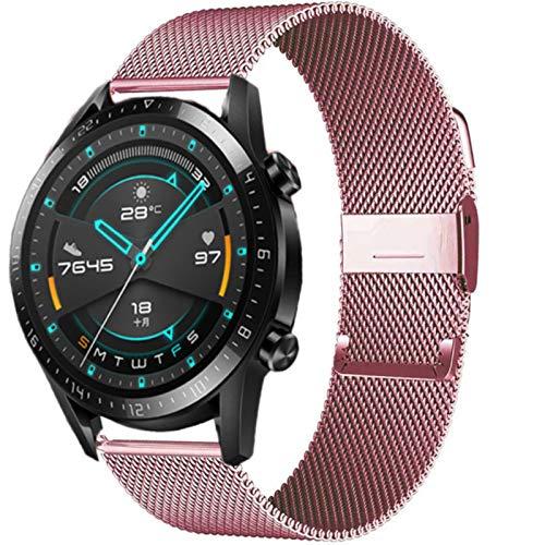 Pulsera de banda de 20 mm 22 mm Reloj Huawei Correa GT / 2 / 2e / Pro