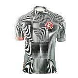 UGLY FROG Herren Sommer Fahrradtrikot Kurzarm Radtrikot MTB Pro-T/Jersey/Reißverschluss/Atmungsaktiv/Schnelltrocknend Trikots & Shirts