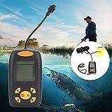 KUIDAMOS La sonda oltrasónica se Puede Trabajar a Menos 20 ° ~ 70 ° con Pantalla LCD portátil, fácil de Transportar y Usar, para Pescar