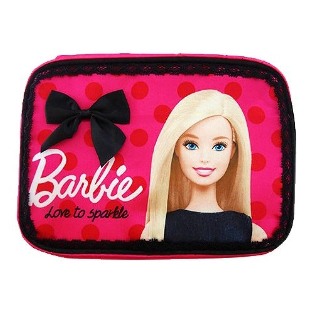 発症伴う野心Barbie コスメポーチ フューシャピンク (1個)