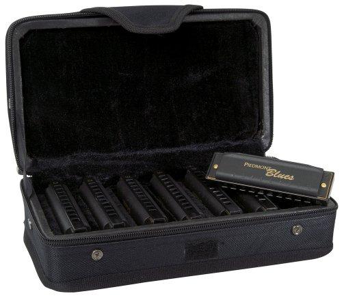 Hohner PBH7 Piedmont Blues Harmonica Set - 7-Pack