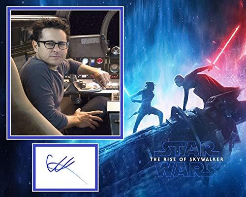 Signing Dreams Autographs JJ Abrams - Soporte para Fotos Firmado por Star Wars, Star Trek, Distribuidor 100% en Persona, registrado por la UACC #242