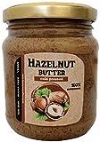 Mantequilla de avellana prensado en frío Urbech crudo 230 gr - Salsa vegana saludable - Proteína 13g - Keto - Sin azúcar - Sin aceite - Bajo en carbohidratos - 100%