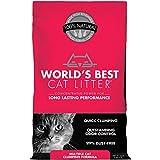 World's Best Cat Litter Fórmula de aglutinamiento de varios gatos de alto rendimiento, de larga duración, 15 libras por World's Best Cat Litter