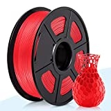 3D Warhorse PLA Filament Red, PLA Filament 1.75mm,PLA 3D Printer Filament, Dimensional Acc...
