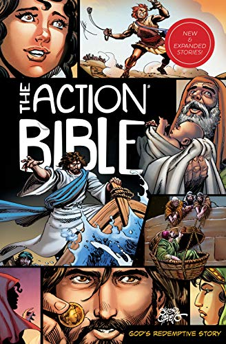 Compare Textbook Prices for The Action Bible: God's Redemptive Story Action Bible Series Revised Edition ISBN 9780830777440 by Cariello, Sergio