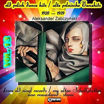 Old Polish Dance Hits (Alte polnische tanzhits) vol. 13