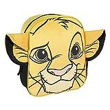 Cerdá, Mochila Infantil Rey Leon de Simba con Aplicaciones de Color Amarillo-Licencia Oficial Disney Studios Unisex niños, Multicolor, 230X280X90MM