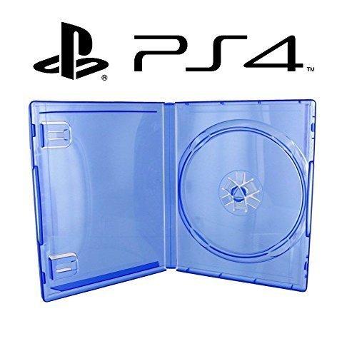 1 CAJA PARA JUEGO PS4 - azul transparente