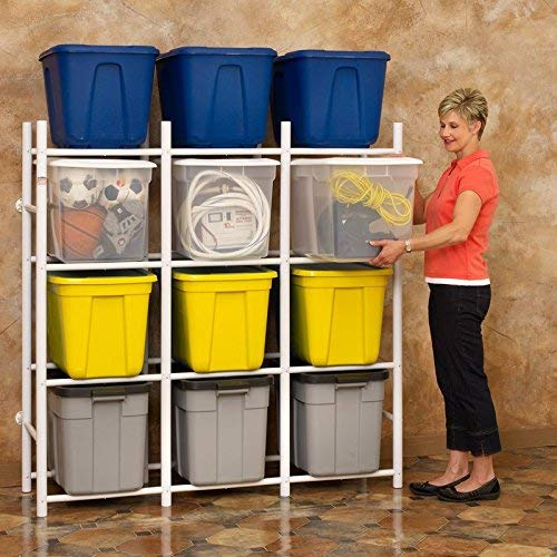 Bin Warehouse Storage Systems 12 Compact Shelving system for storing plastic bins, totes and tubs.