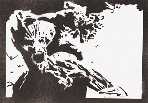 Groot Poster Guardians of the Galaxy Handmade Graffiti Street Art - Artwork