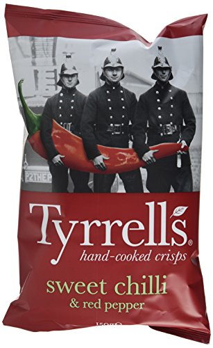 Tyrrell's Sweet Chilli & Red Pepper, 8er Pack (8 x 150 g)