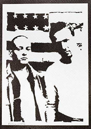American History X Poster Plakat Handmade Graffiti Street Art - Artwork